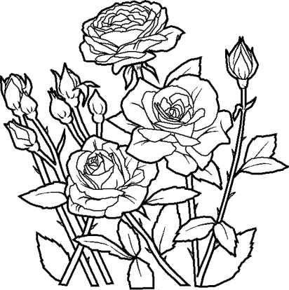 coloring-page-of-flowers