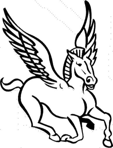 coloring-pages-for-horses-pegasus