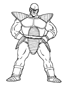 coloring-pages-of-dragon-ball-z
