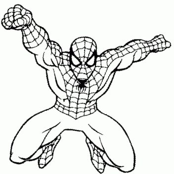 coloring-pages-of-spiderman