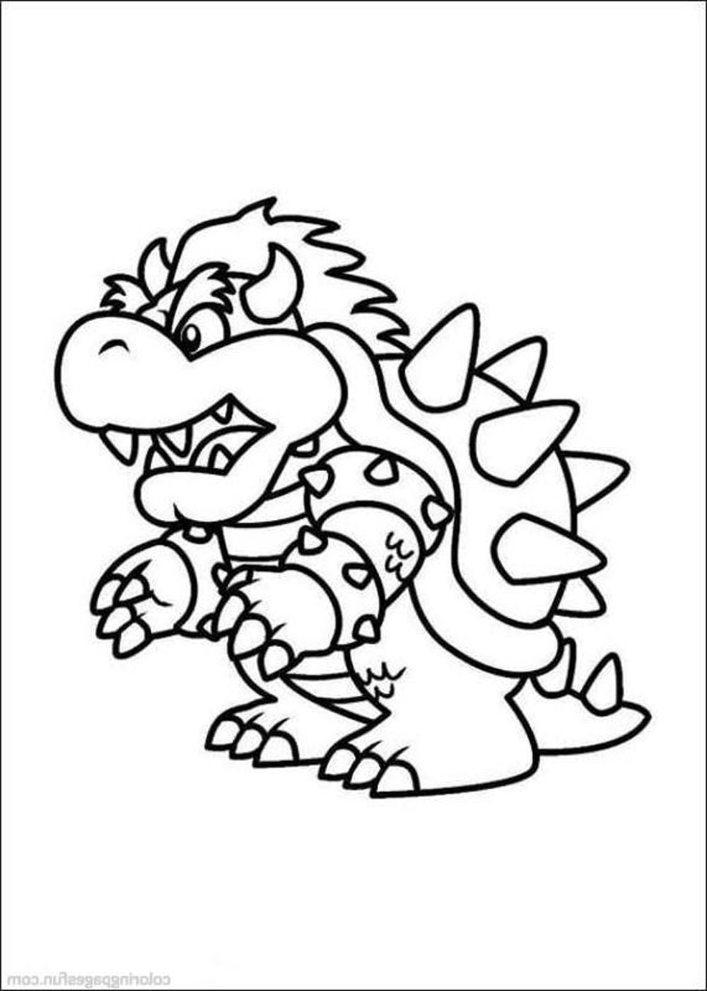 print mario coloring pages themes