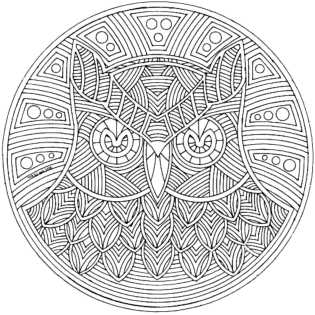 complex-coloring-pages-owl