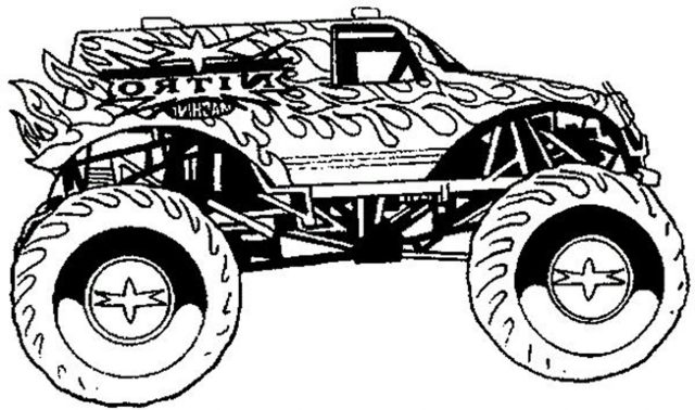 cool-coloring-pages-for-boys-monster-truck   BestAppsForKids.com