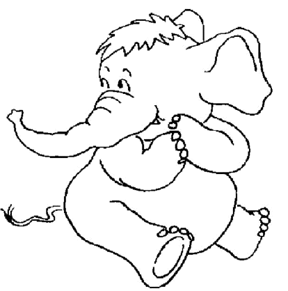 cute-elephant-coloring-pages