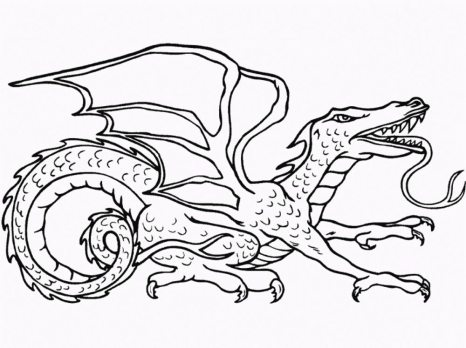 dragon-coloring-page