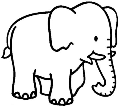 elephant-coloring-pages