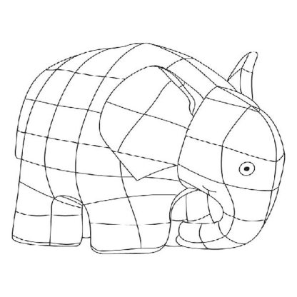 elmer-the-elephant-coloring-page