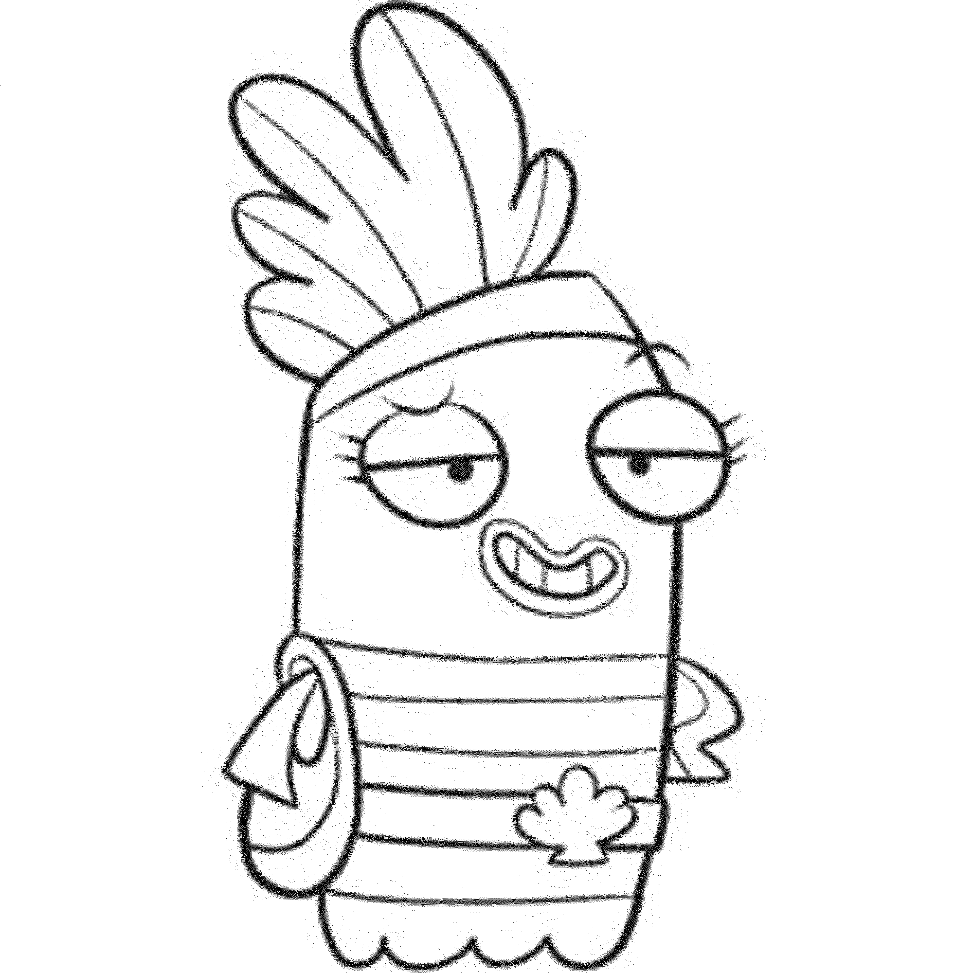 Fish Hooks Coloring Pages To Print Coloring Page