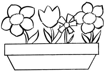 flower-color-pages-pot