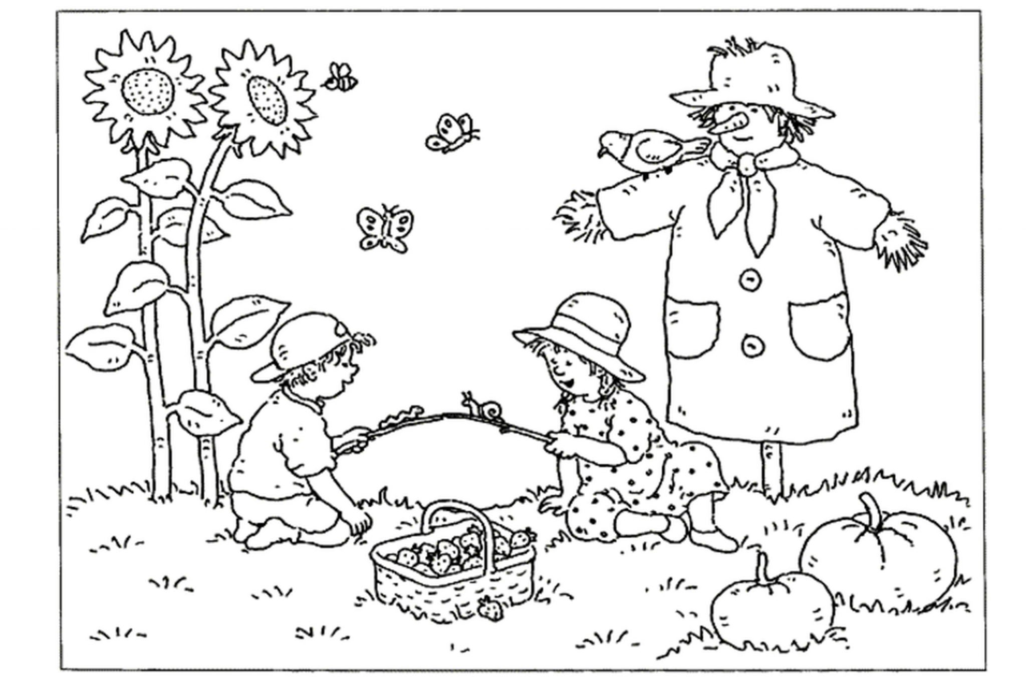 Print & Download - Fall Coloring Pages & Benefit of ...