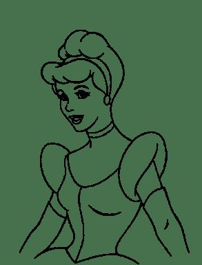 free-cinderella-coloring-pages