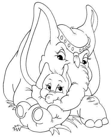 free-elephant-coloring-pages