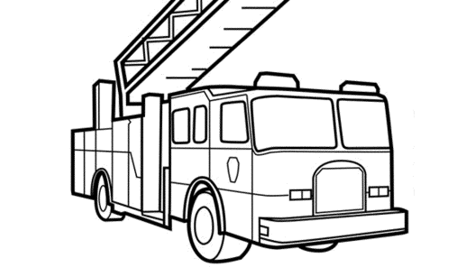free-fire-truck-coloring-pages