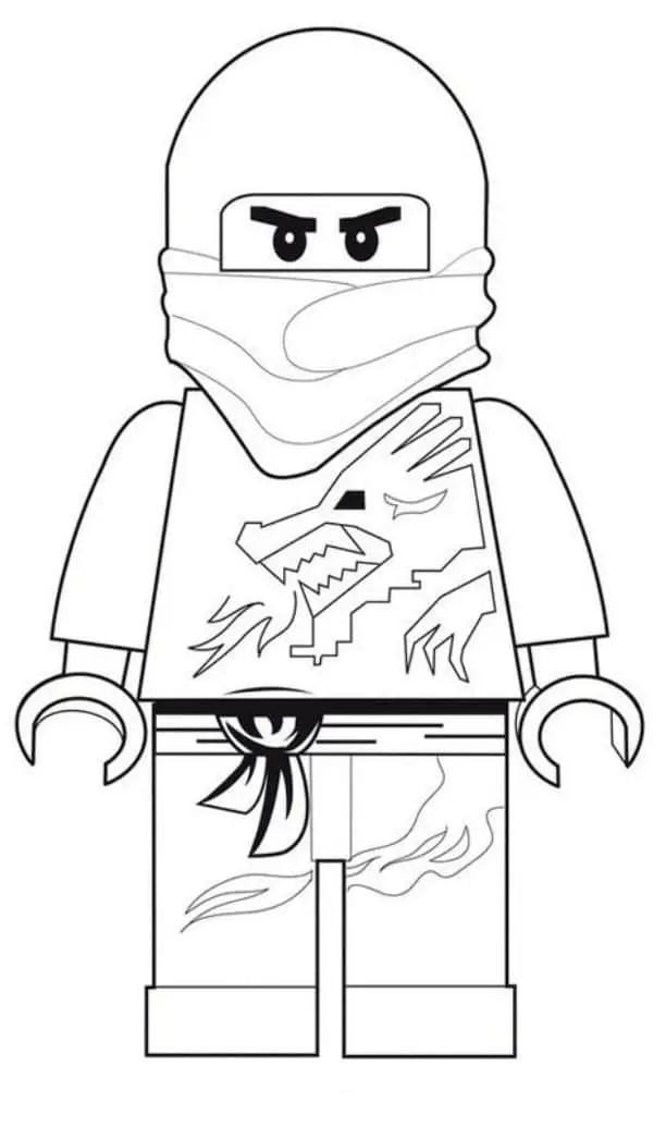 Free Lego Ninjago Coloring Pages