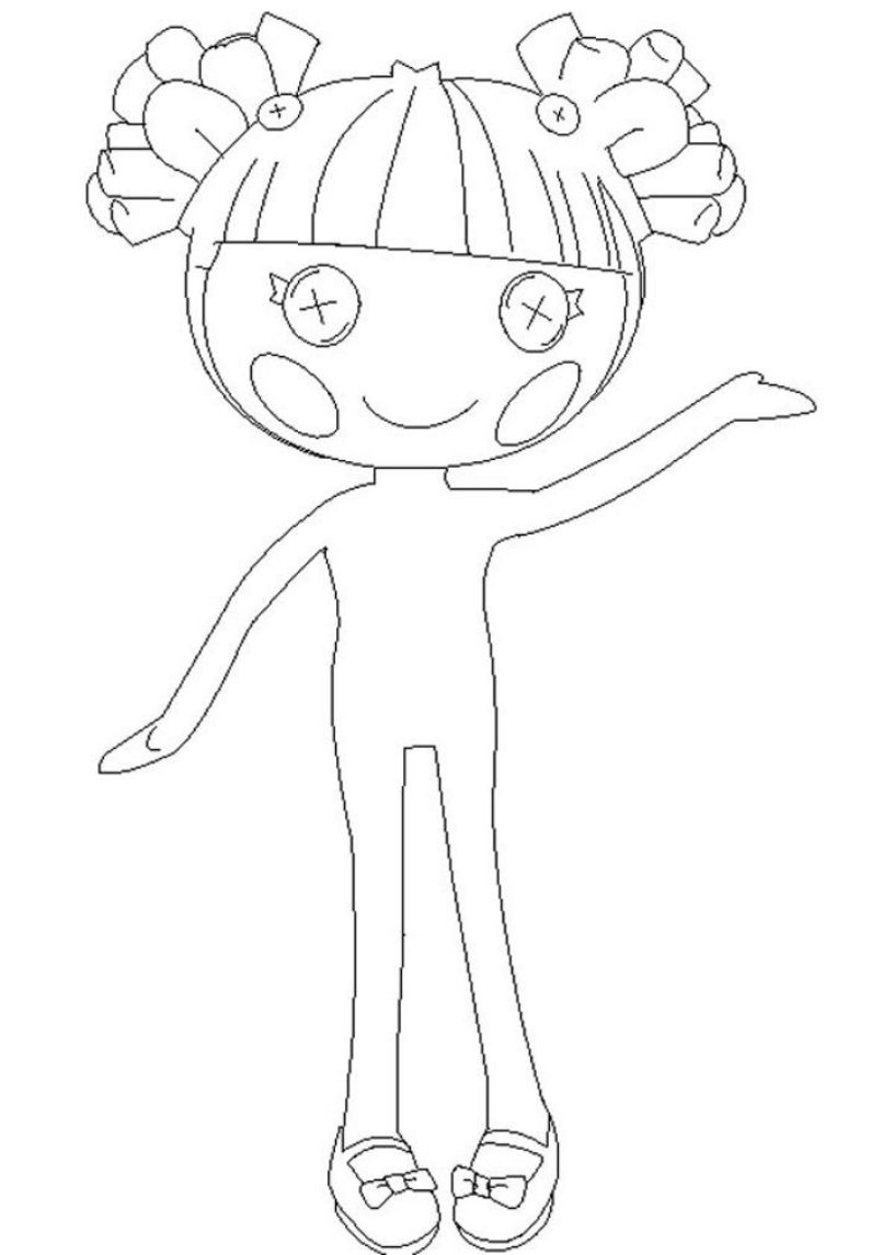 Lalaloopsy Coloring Pages Pictures Bestappsforkids