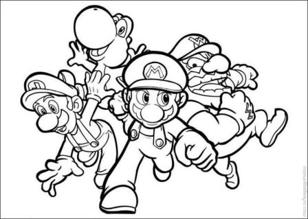 mario-brothers-coloring-pages