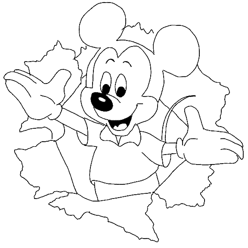 Learning Through Mickey Mouse Coloring