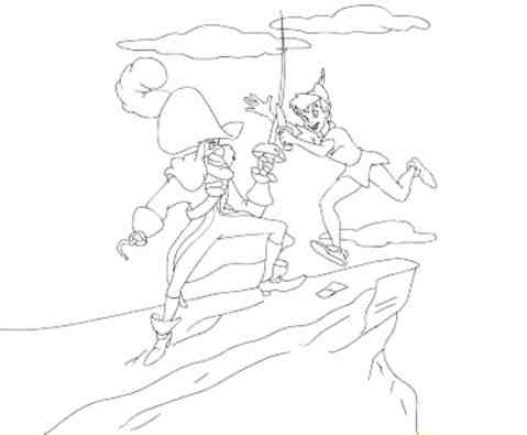 peter-pan-coloring-pages-captain-hook