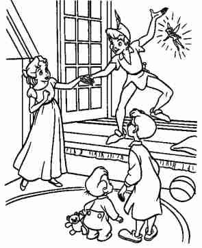 peter-pan-coloring-pages-online