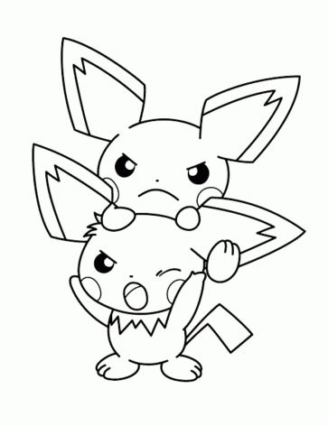 pokemon-coloring-pages-eevee