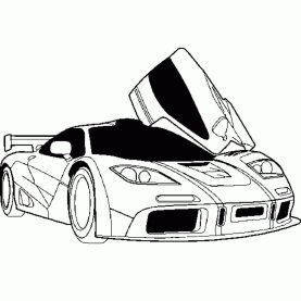 police-car-coloring-page
