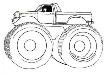 preschool-monster-truck-coloring-pages