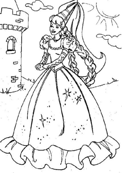 princess-belle-coloring-pages