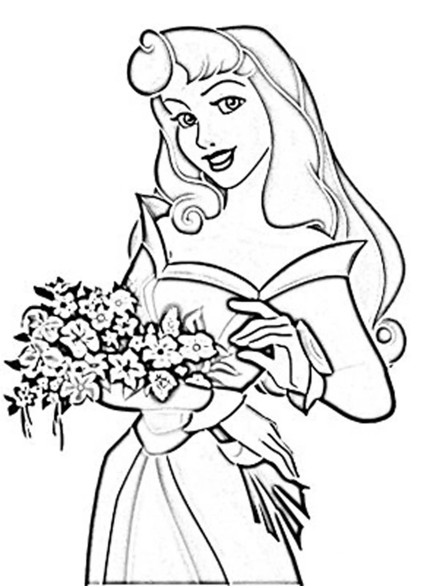 Princess Jasmine Coloring Pages Bestappsforkids