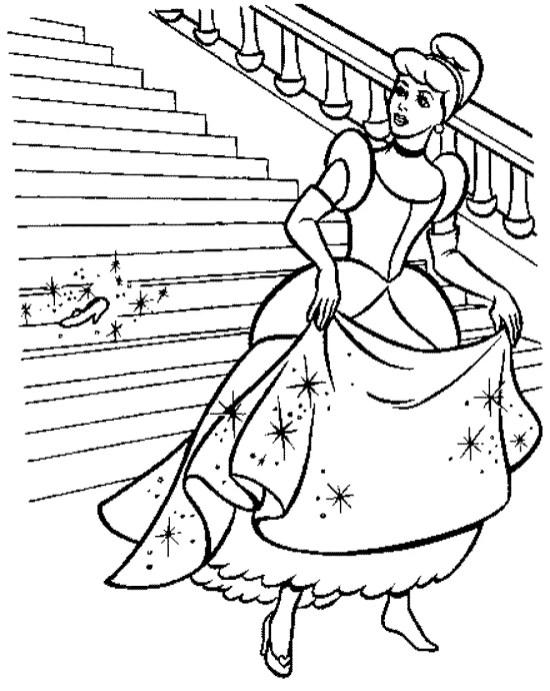 printable-cinderella-coloring-pages