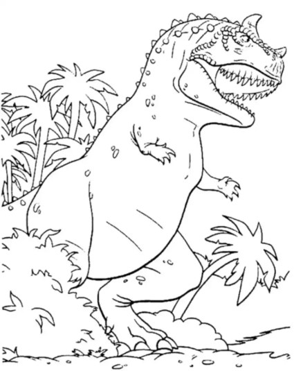 scary-t-rex-coloring-pages