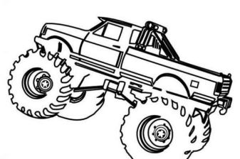 simple-monster-truck-coloring-pages