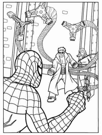 spiderman-color-pages