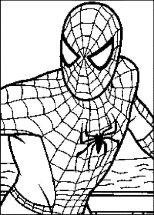 spiderman-coloring-pages-face
