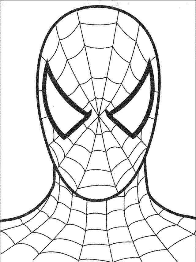 spiderman-free-coloring-pages   BestAppsForKids.com