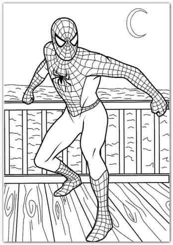 spiderman-printable-coloring-pages