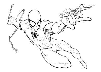 spiderman-vs-venom-coloring-pages