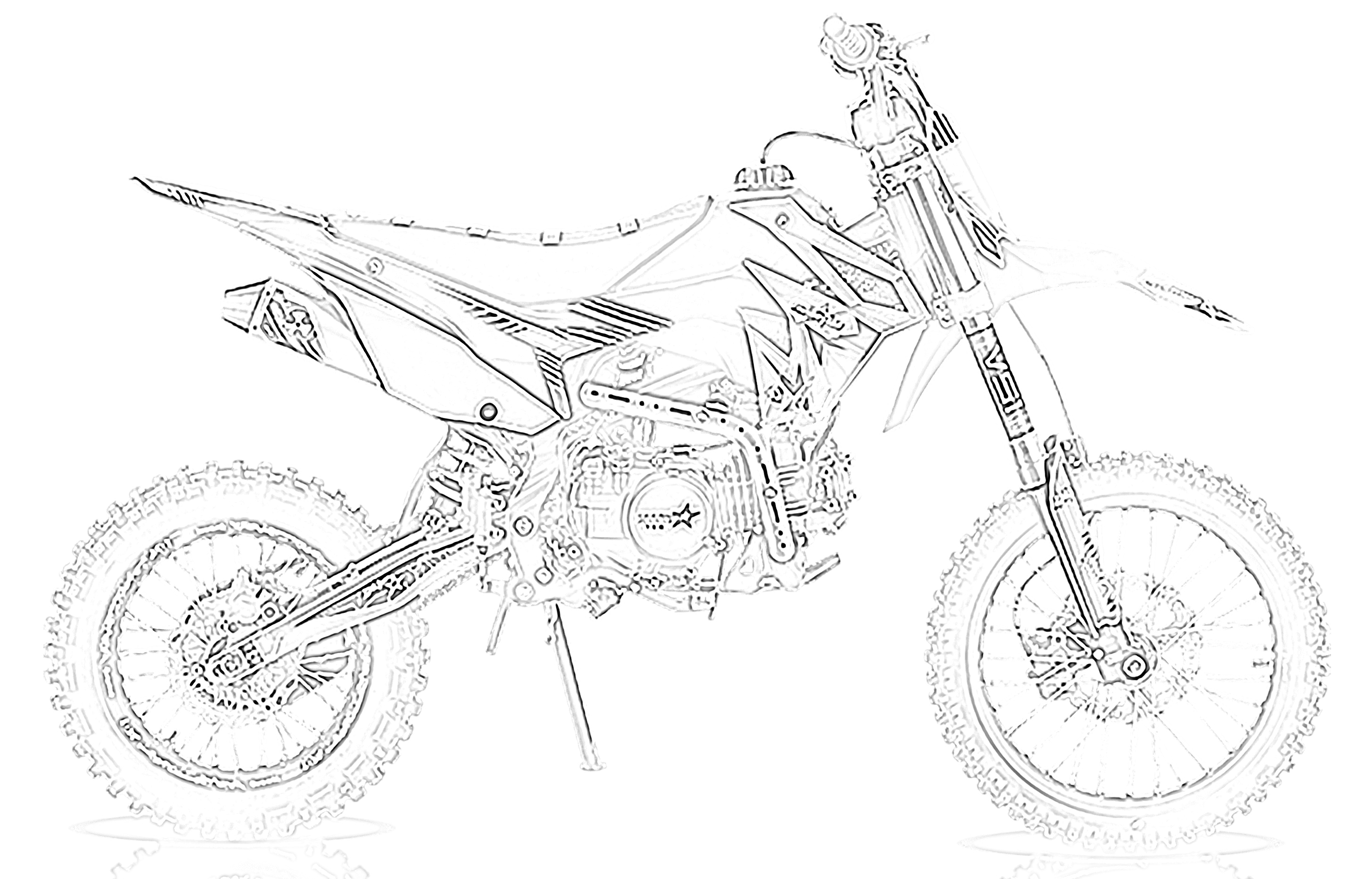 10 Free Dirt Bike Coloring Pages For Kids Save Print Enjoy
