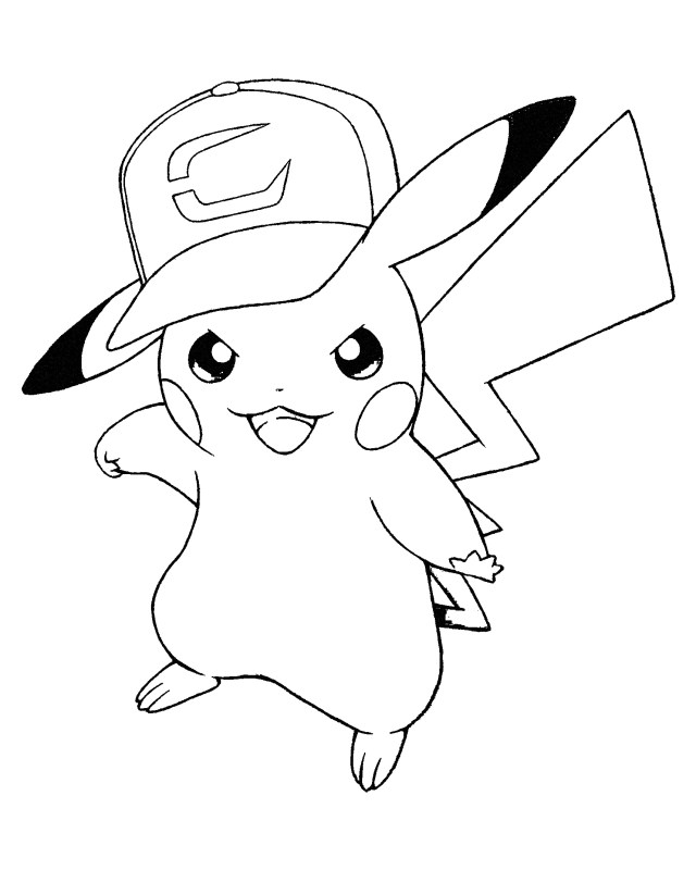 28 Free Pikachu Coloring Pages for Kids   BestAppsForKids.com
