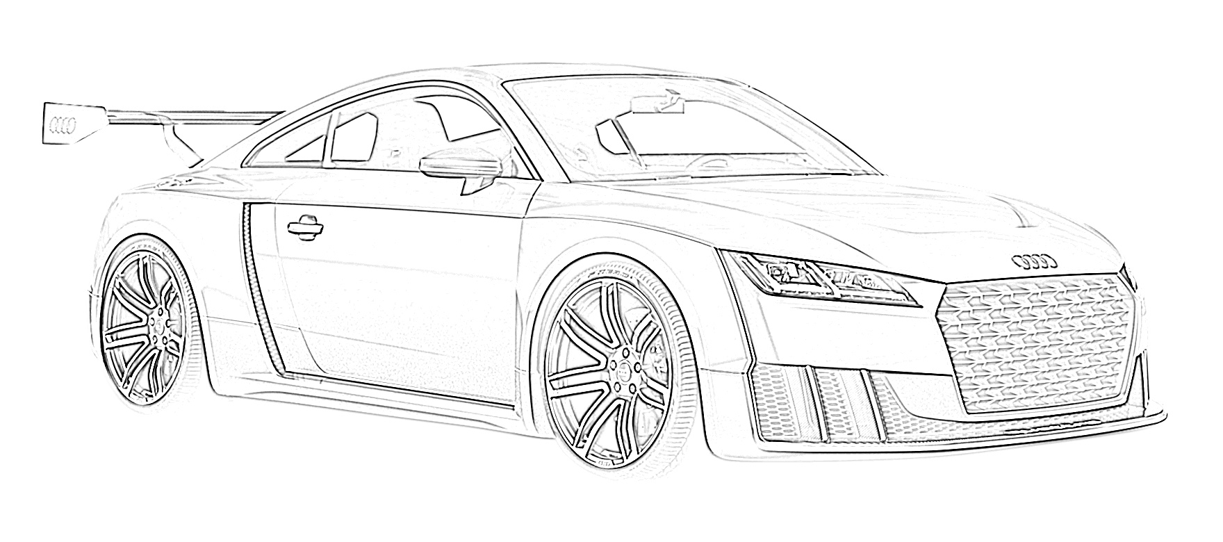 17 Free Sports Car Coloring Pages For Kids
