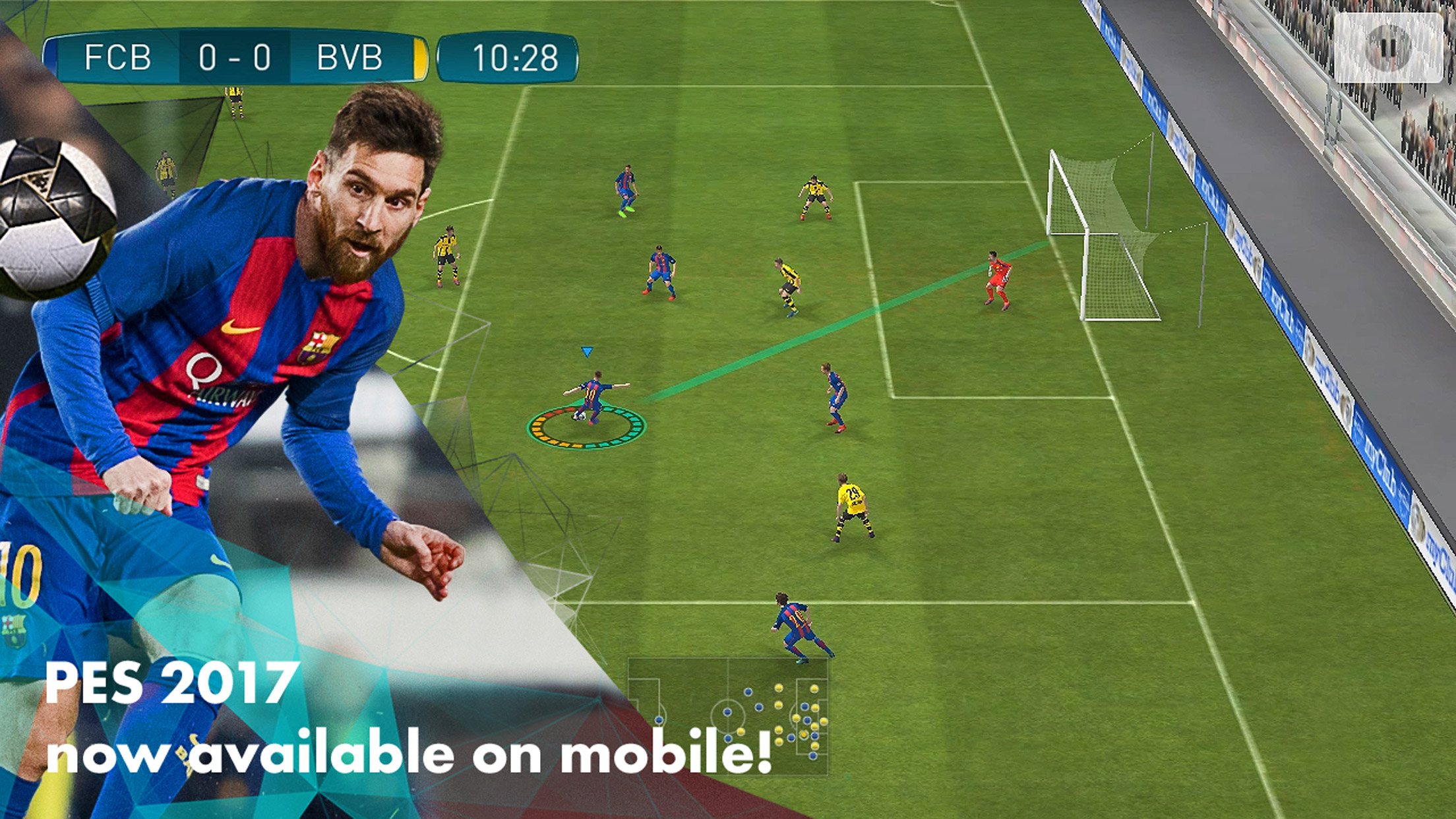 PES 2017 Mobile iOS and Android globally released in May 2017