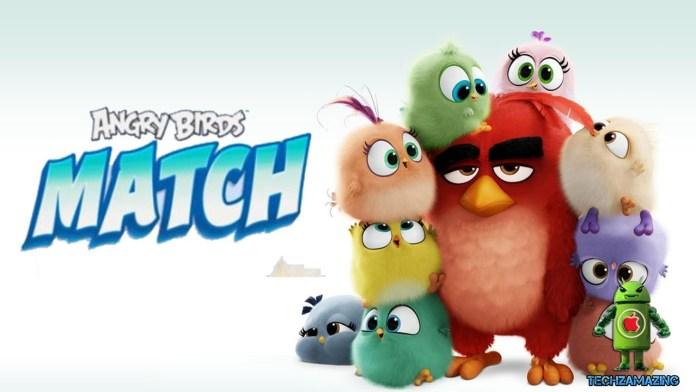 Rovio Angry Bird Match