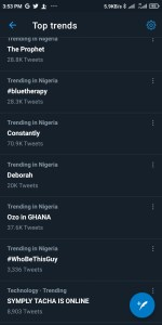 Who Be This Guy By Kheengz Trends Number 3 On Twitter