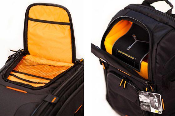 Case Logic Backpack Open