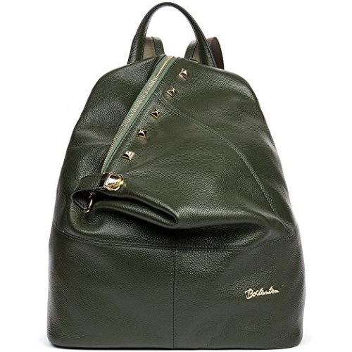 BOSTANTEN Women Leather Backpack Purse