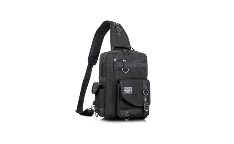 Leaper Cross Body Messenger Bag Shoulder Backpack