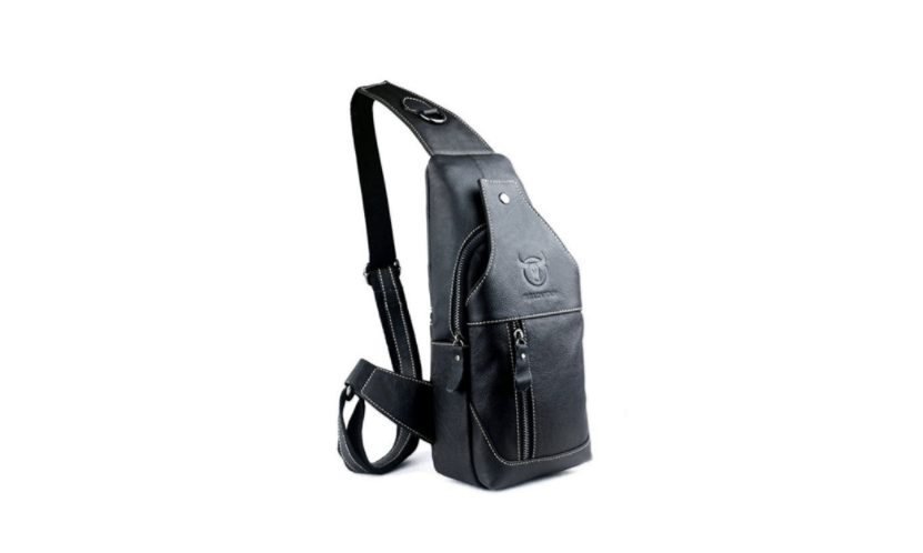 RS Men's Genuine Leather Sling Bags