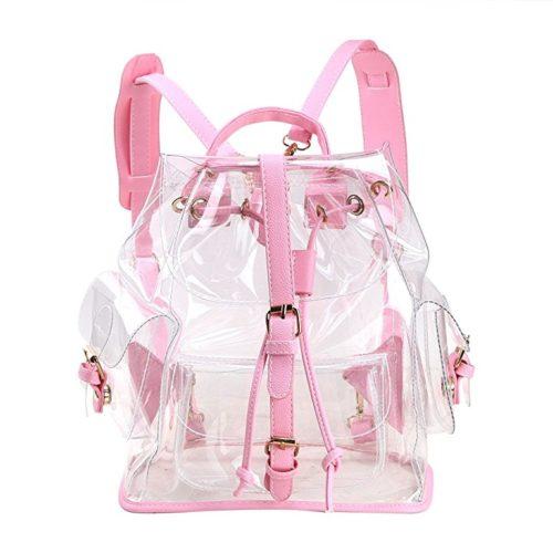 Zicac Summer Clear Drawstring Backpack