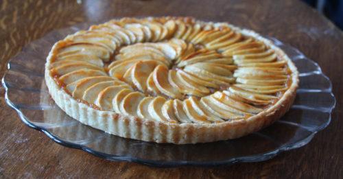 Tarte aux Pommes or Apple Tart