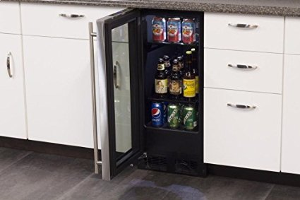 With an under the counter refrigerator you save space