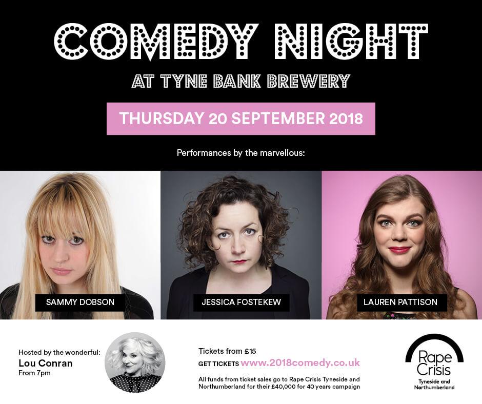 Comedy-Night-Tyne Bank-Brewery